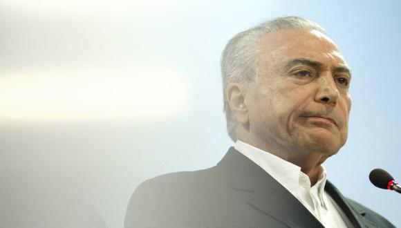 Brasil: Se presentará una acción de 'impeachment' contra Michel Temer (EFE)