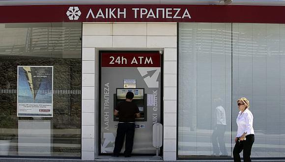 Marfin Popular Bank necesita encontrar 1,800 millones de euros antes del 30 de junio. (Bloomberg)