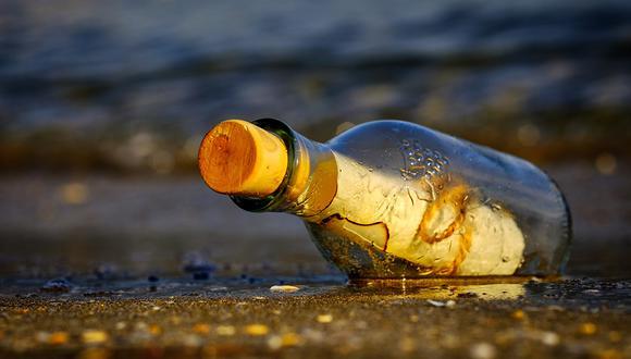 Encuentran en remota isla nipona un mensaje en una botella escrito en español. (Pixabay)