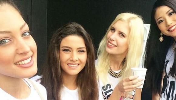 'Selfie' no deseado entre Miss Israel y Miss Líbano genera polémica. (Instagram)