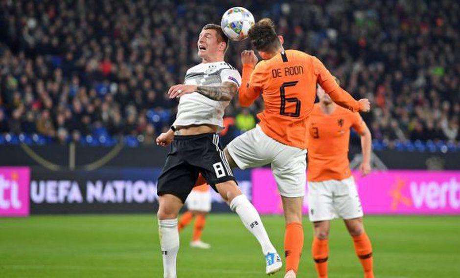 Holanda vs. Alemania: se miden en Amsterdam por fase de clasificación a la Eurocopa. (Foto: Selección de Alemania)