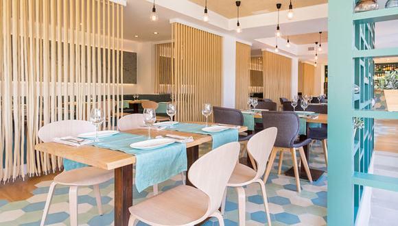 El moderno diseño del chifa combina perfectamente los estilos marinos y orientales. (Foto: Kionsui.com)
