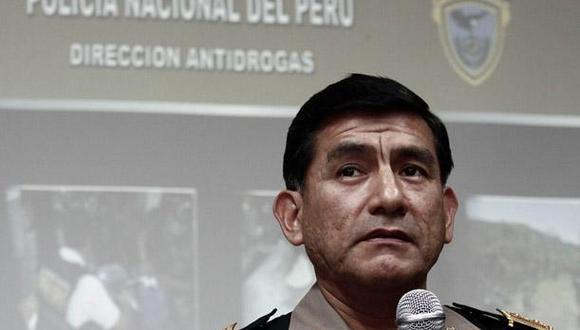"""Carlos Morán recordó que los miembros del Congreso disuelto han perdido """"todas sus prerrogativas"""". (Foto: GEC)"""