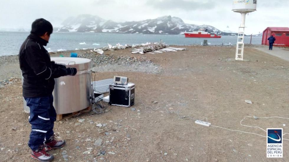 """El proyecto """"Estación de Clima Espacial en la Antártida"""" tiene como objetivo desarrollar una serie de instrumentos que permitirán medir desde tierra el entorno espacial cercano. (Foto: Conida)"""