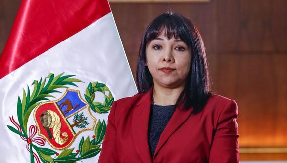Mirtha Vásquez juró como presidenta del Consejo de Ministros (Foto: Presidencia)