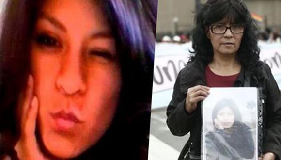 Madre de Shirley Villanueva Rivera sigue en la lucha de ubicar a su hija desaparecida hace tres años. (Facebook)