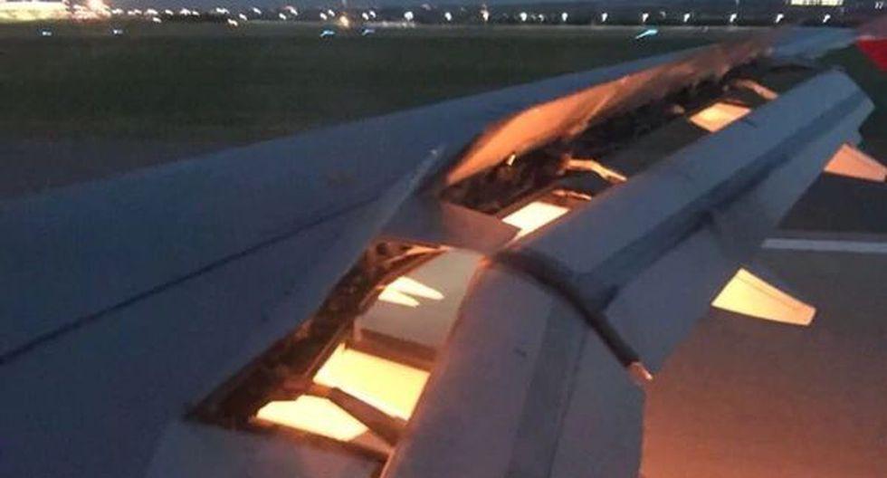 El avión de la selección se prendió minutos antes el aterrizaje al aeropuerto de Rostov. (@GoalSA)