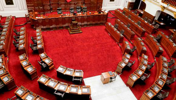 El pleno del Congreso aprobó la propuesta de una cuarta legislatura. (Congreso)