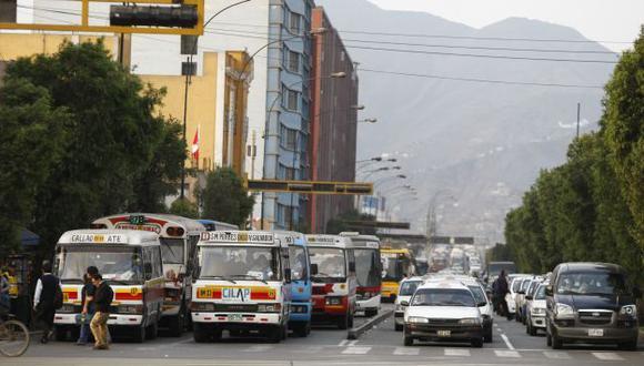 A partir del 26 de julio, entrará en fase de preoperación la implementación de corredor. (Luis Gonzales)
