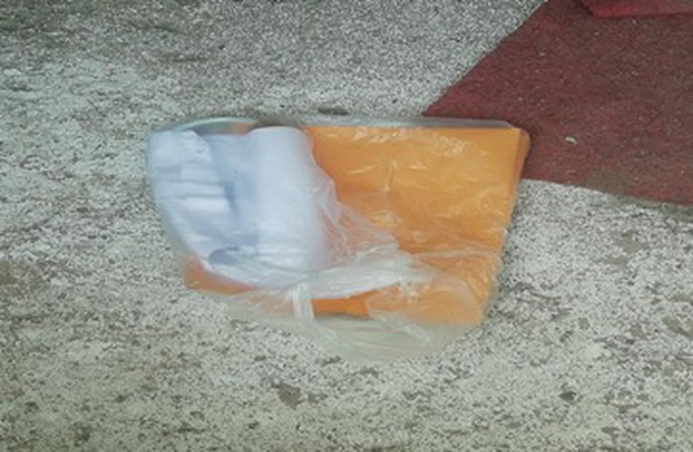 Extorsionadores dejaron artefacto explosivo en la casa de comerciante.