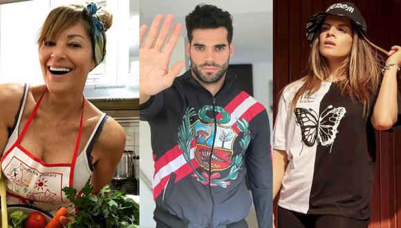 """Edith Tapia """"está feliz"""" por decisión judicial que archiva la apelación de Alejandra Baigorria a la denuncia contra Guty Carrera. (Foto: @edithtapia25/@gutycarrera/@alejandrabaigorria)"""