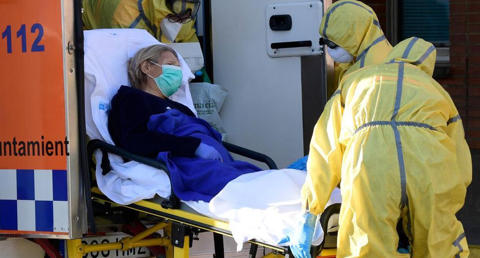 Según fuentes sanitarias de ese país, la mujer de 37 años tenía una patología crónica previa, por lo que se complicó su estado de salud. (Foto: AFP)