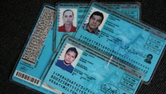 Los 3,344 peruanos con dirección falsa en su DNI deberán rectificar dicho dato antes del 7 de junio. (USI)