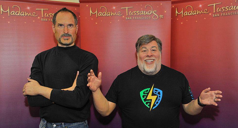 Steve Wozniak fundó Apple junto a Steve Jobs en 1976. (Getty)