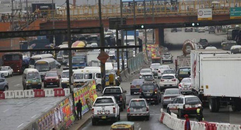 El tránsito vehicular se restringirá las 24 horas del día. (Foto: GEC)