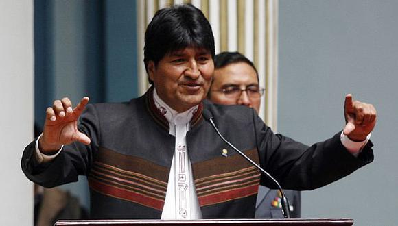 El presidente Evo Morales disparó contra EE.UU. (Difusión)