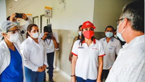 San Martín: ministra Donayre supervisó atención sanitaria contra el COVID-19 en la región (Foto: Midis).