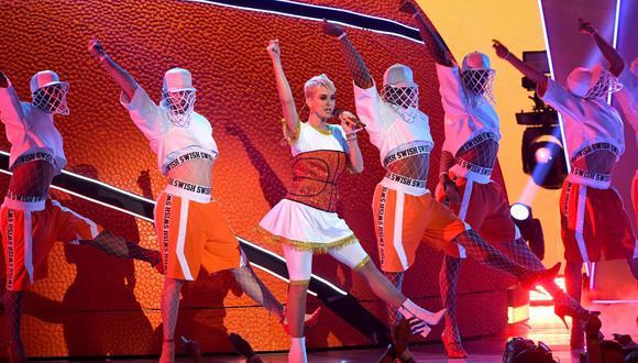 Katy Perry nuevamente en el ojo de la tormenta por una nueva acusación en su contra. (Foto: AFP)