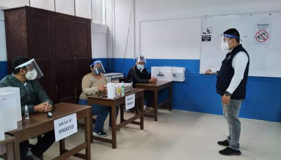 La ONPE permite conocer la respuesta de dónde votar en las elecciones 2021. (Foto: ONPE)
