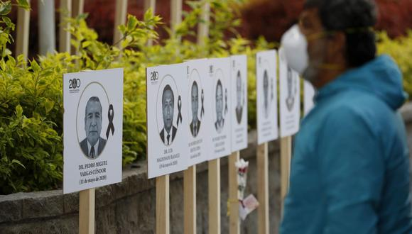 El número de personas fallecidas aumentó este lunes. Foto: EFE/Paolo Aguilar