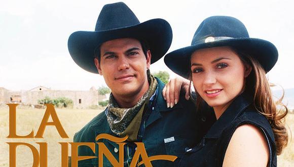 """""""La dueña"""" es una telenovela mexicana que se estrenó en 1995 y estuvo protagonizada por Angélica Rivera y Francisco Gattorno (Foto: Televisa)"""