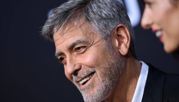 """George Clooney sumó a nuevos talentos para la película """"Good Morning, Midnight"""" de Netflix. (Foto: AFP)"""