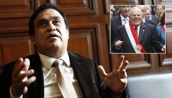 """Otárola opinó que estilo """"bonachón"""" se puede acabar pronto a PPK si el mandatario no responde con medidas efectivas. (Perú21)"""