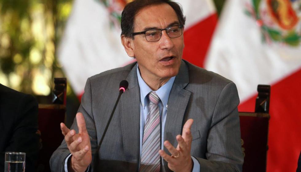 Vizcarra en desacuerdo con la aprobación por insistencia de la autógrafa de la ley Mulder. (Perú 21)