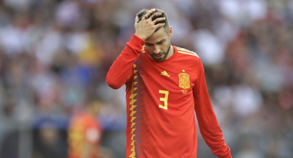 Gerard Piqué ganó el Mundial 2010 con España (Foto: AP).