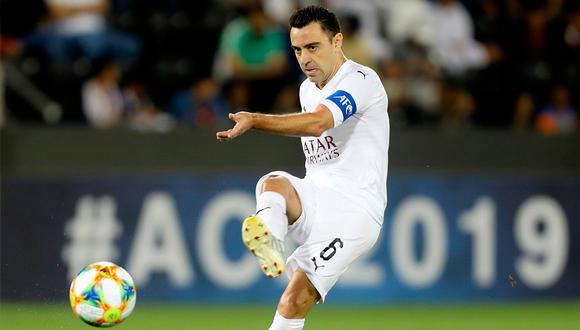 Xavi Hernández anunció hace poco su retiro del fútbol. (Foto: AFP)