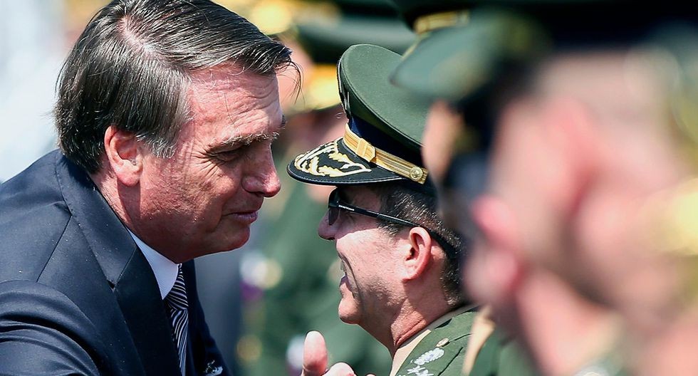 Jair Bolsonaro ordena que las Fuerzas Armadas de Brasil intervengan en el incendio que afecta a la Amazonía. (Foto: AFP)