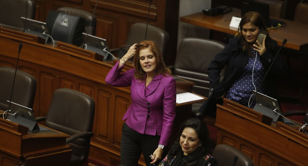 """Mercedes Aráoz niega persecución: """"Políticos de todos los colores somos investigados"""" (Mario Zapata)"""