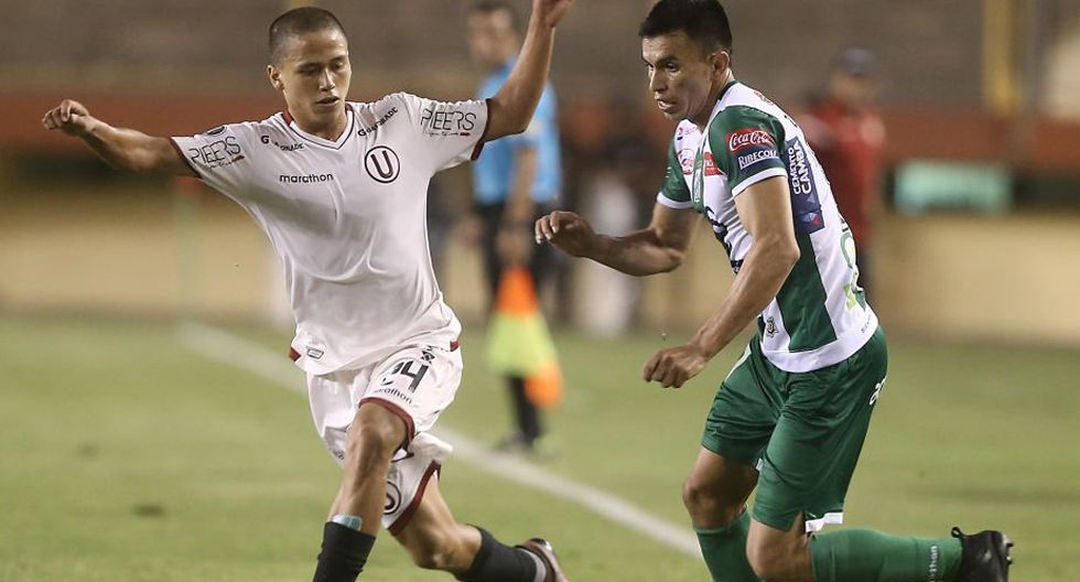 Paulo De la Cruz jugó ante Oriente Petrolero por la Copa Libertadores. (César Campos/Perú21)