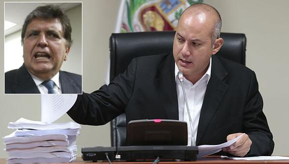 Sergio Tejada continúa investigación de indultos durante gobierno de Alan García. (César Fajardo)