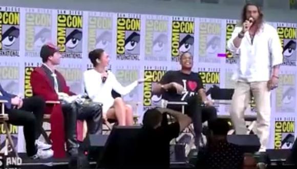 Comic-Con 2017: 'Aquaman' le hizo una broma pesada a un niño que preguntó por 'Superman' (Comic-Con)