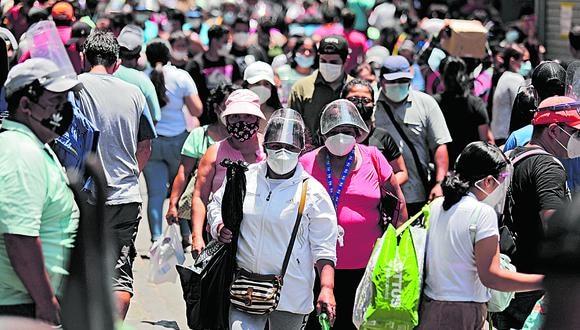 La pandemia del COVID-19 sigue golpeando fuerte al Perú. (GEC)