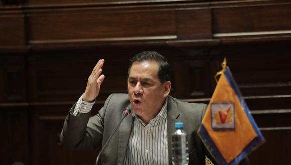 José Vega se presenta como precandidato presidencial en UPP. (Anthony Niño de Guzmán/GEC)