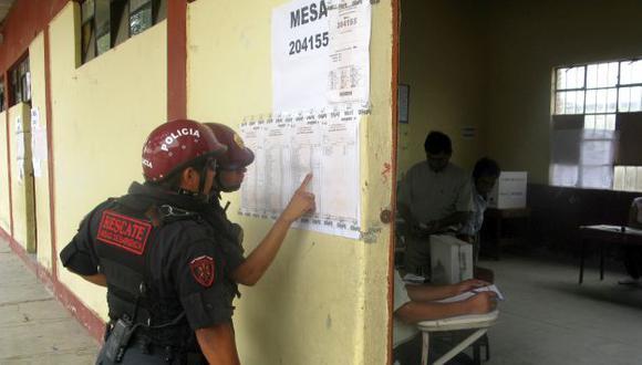 Elecciones 2016: PNP niega que se haya prohibido votar a policías. (Perú21)