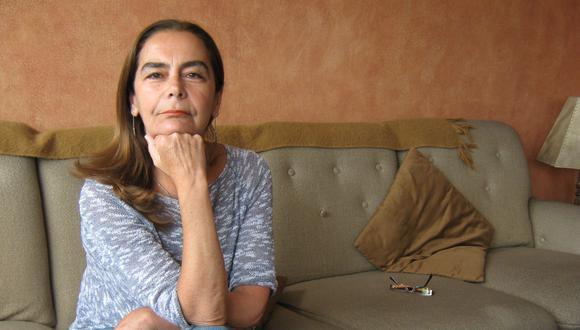Marcela Robles, escritora e hija del cineasta Armando Robles Godoy.