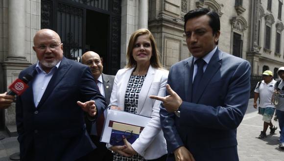 El pueblo los juzgará. (LuisCenturión/Perú21)
