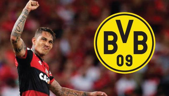 Paolo Guerrero podría volver a disputar la Bundesliga, tras su experiencia en Bayern Munich y Hamburgo. (AFP)