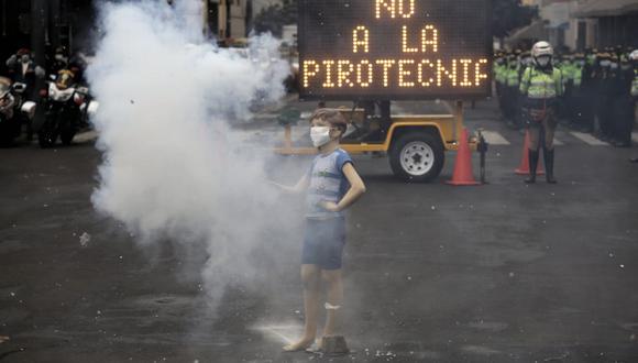 Municipalidad de Lima y Policía presenta campaña de sensibilización en Mesa Redonda (Foto: César Grados/@photo.gec)