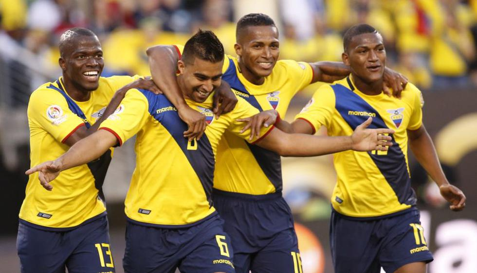 Ecuador goleó 4-0 a Haití y avanzó a los cuartos de final de la Copa América Centenario. (EFE)