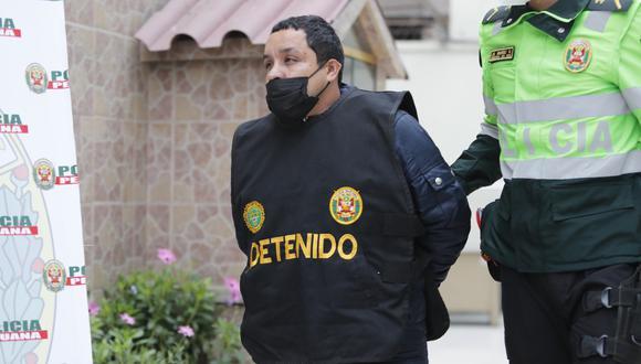 Jean Pierre Cánepa Arica (36) se encargó de manejar el vehículo el día del asalto y la Policía lo capturó cerca de su vivienda en La Victoria. (Foto:GEC)