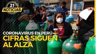 Cifras COVID-19 sigue en aumento en Perú