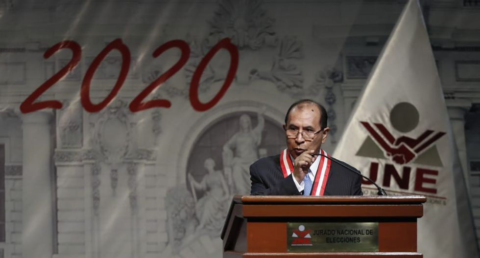 Víctor Ticona preside hoy ceremonia de entrega de credenciales a los nuevos congresistas. (Foto: César Campos / GEC)