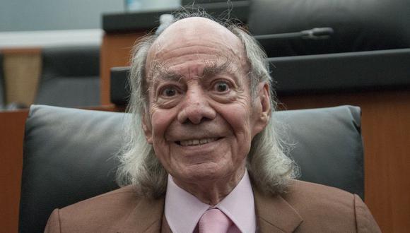 """Manuel """"El loco"""" Valdés falleció en México el pasado 28 de agosto, a los 89 años de edad, tras una larga batalla contra el cáncer (Foto: AFP)"""