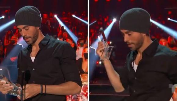 """Enrique Iglesias dio las gracias por ser elegido como el """"Top Latin Artist of all Time"""" de los premios Latin Billboard 2020. (Foto: Twitter / @latinbillboard)."""