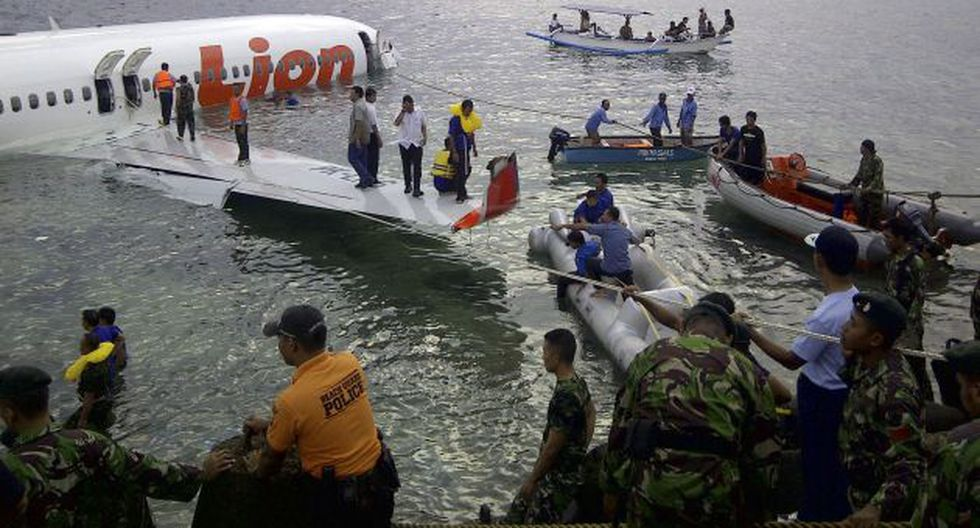 Viajaban 108 personas. (AP)