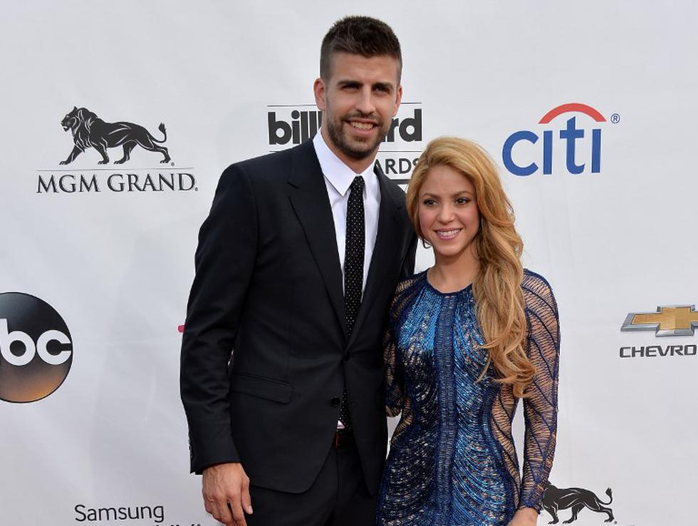 Shakira envía con romántico mensaje a Gerard Piqué, pero generó polémica.   Fotos: AFP